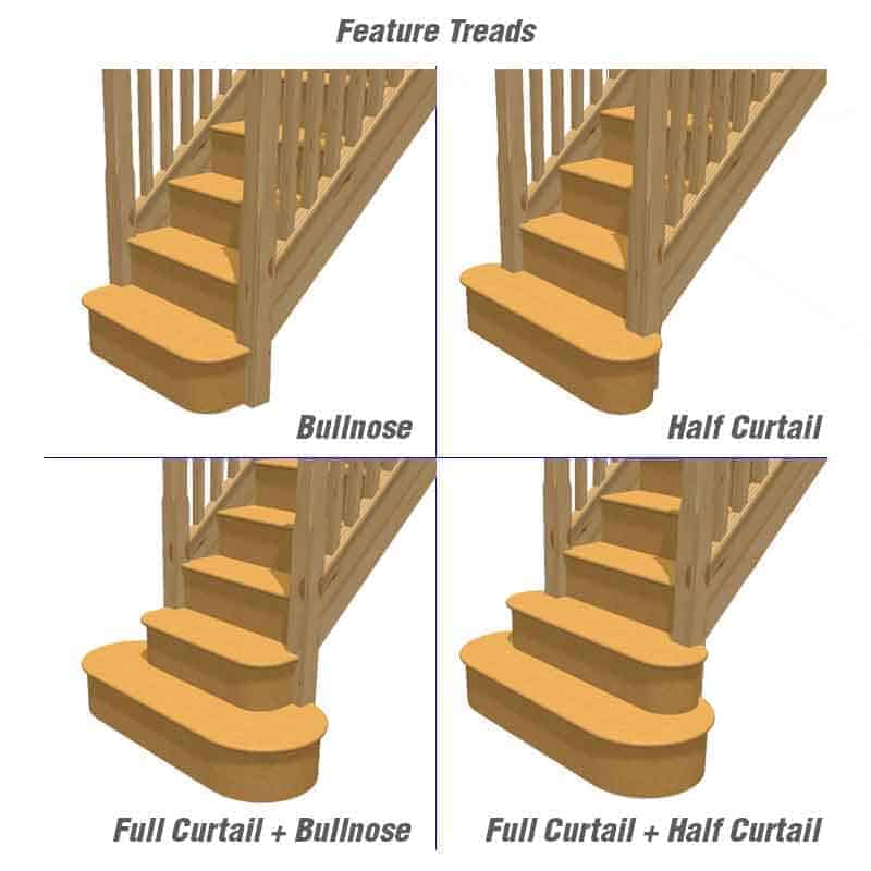 Do you require a feature tread?